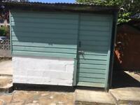 Storage shed workshop to rent