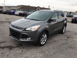 2014 Ford Escape TITANIUM / AWD /LEATHER / HEATED SEATS/ BLUETOO