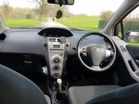 toyota yaris 1.3 petrol manual 3door hatchback