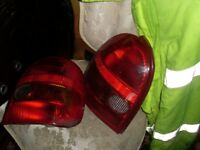 corsa b rear lights