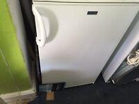 white Small fridge..under counter