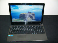 "Acer Aspire 5750 15.6"" Laptop Core i5-2410 2.30GHz CPU 8 GB DDR3 320 GB HDD WebCam Windows 7 WiFi"