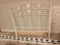 Next Amy white single bed