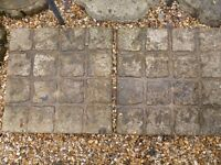 Six Paving Patio Slabs For Sale