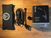 AKG C519M clip on miniature condenser microphone