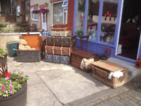 Great Selection of Victorian Chest & Steamer Trunks