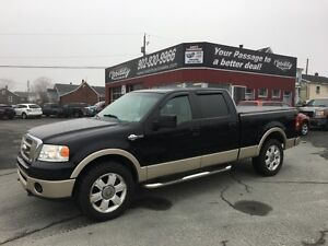2007 Ford F150 4x4 King Ranch King Ranch
