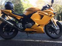 Hyosung GT125R learner legal 125cc