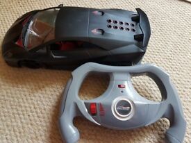 Remote control car, hardly used