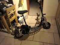 evo powerboard petrol scooter 70cc