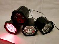 LED Disco Lights (with music beat control)