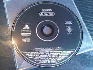 DEMO ONE 1 PS1 PS2 PS3 - Playstation Demo Disc - Disc only