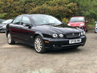 JAGUAR X-TYPE 2.0 S 4d 129 BHP ONLY 2 PREVIOUS KEEPERS * HALF LEATHER + CRUISE CONTROL for sale  Rosyth, Fife