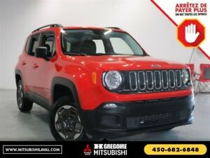 2016 Jeep Renegade Sport 4X4 Auto A/C Cruise Groupe.Elec MP3/AUX