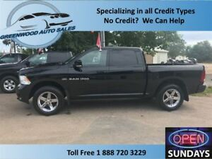 2012 Ram 1500 CREW,AC, CRUISE, BACK UP CAM, LEATHER, NAVI!!!!