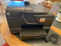 Black HP Officejet Pro 8700 Colour Printer and Scanner Touchscreen Display Immaculate Condition