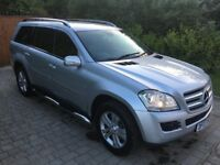 Mercedes gl 320cdi 4 matic 2007 7 seater 143,000 miles very clean