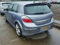 Astra h 2007 5 door rear tailgate bootlid with xp spoiler in silver lightning z163 vgc 07594145438