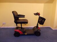 Invacare Colibri Mobility Scooter, only used once, good as new