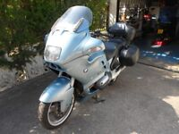 BMW R1100RT . Panniers and top box. Recent tyres and battery. 12 months mot