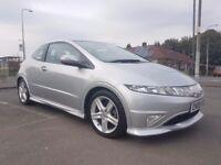 Honda Civic 1.8 i-VTEC Type S GT Hatchback i-Shift 3drSATNAV/LOW MILEAGE/PANO ROOF