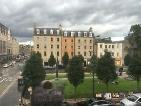 Large 5 bedroom double upper flat located close to George Square