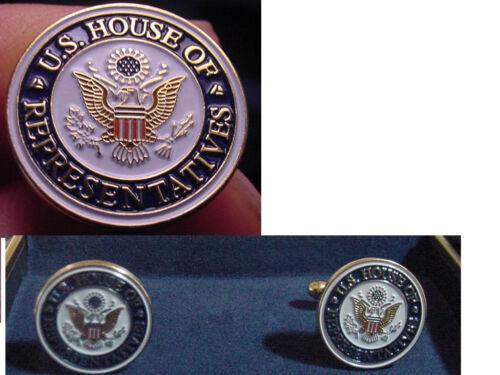 New pair house of representatives   cufflinks