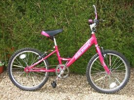 Child's Kid's Girl's Raleigh Misti Bicycle, suit age 6-10