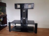 Tv stand in good order to fit wide screen tv and hifi units sky box etc