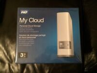 Western Digital 3TB My Cloud - unused and still in wrapper