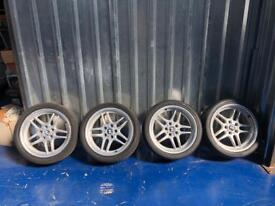 Bmw M-Parallel genuine wheels 18""