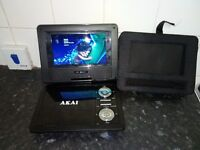 Dvd player with screen