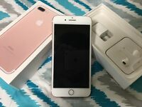 MINT CONDITION iPhone 7 32GB Rose Gold Vodafone