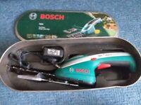 Bosch isio codrdless trimmer