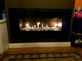 Gas fire insert
