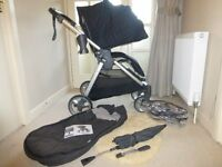 Mama & Papas Armadillo Pushchair Bundle Black Jack RRP£564