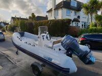 Yamaha 4.8m RIB boat with 50hp Yamaha 4-stroke