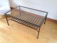 Ikea Granas Glass Coffee Table