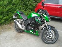 Kawasaki Z300, 2015, A2 compliant, extremely low mileage