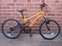 "Apollo Stomp Childs Mountain Bike 20"" wheels"