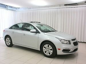 2016 Chevrolet Cruze LT TURBO SEDAN w/ SUNROOF, BACKUP CAM & BLU