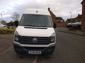 FOR SALE VW MWB crafter 2011 facelift model. Very clean, Full VWSH, Genuine 107k. Only £7195