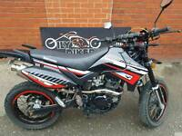 LEXMOTO ADRENALINE 125, 4500 MILES, 1 OWNER, 0% FINANCE AVAILABLE