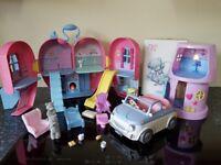 Tatty Teddy Bundle Heart house Lamp house Car