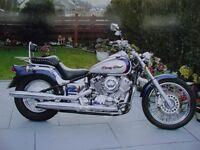 FOR SALE . YAMAHA DRAG STAR xvs 650cc MOTOR BIKE