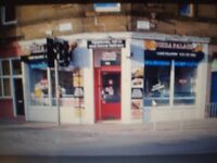PIZZA PALACE TAKEAWAY DELI TO RENT GORGIE RD £950/MTH