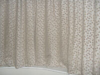 curtains fully lined chenille 90''w x64''d