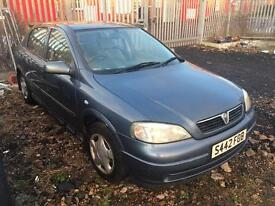Vauxhall Astra with 12 months MOT on bargain