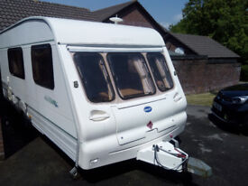 Bailey Ranger 510/4 Caravan with Motor Mover & Awning