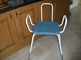 Perching stool, mobility aid. Excellent condition, hardly used.